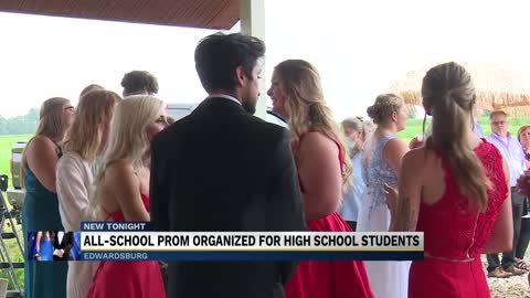 All-school prom organized for high school students